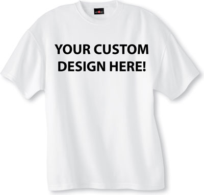Custom Made T-Shirt Front and back design